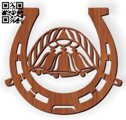 Horse shoes E0011466 file cdr and dxf free vector download for Laser cut