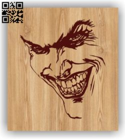 Joker E0011457 file cdr and dxf free vector download for laser engraving machines