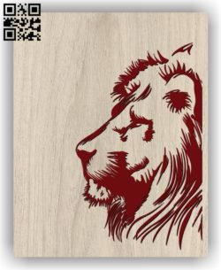 Lion E0011361 file cdr and dxf free vector download for laser engraving machines