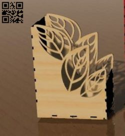Organizer E0011576 file cdr and dxf free vector download for Laser cut