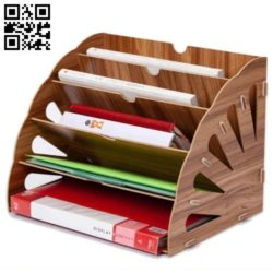 Organizer Tray E0011502 file cdr and dxf free vector download for Laser cut