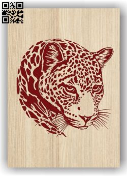 Panther E0011363 file cdr and dxf free vector download for laser engraving machines
