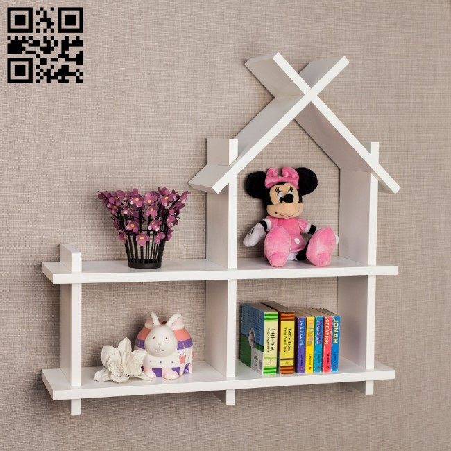 Shelves in kindergartens E0011629 file cdr and dxf free vector download for laser cut