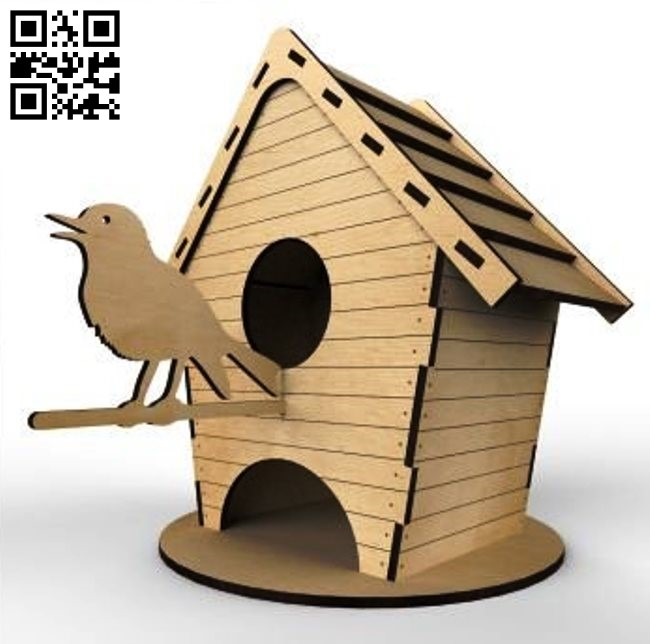 Tea house E0011605 file cdr and dxf free vector download for Laser cut