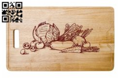Vegetables E0011448 file cdr and dxf free vector download for laser engraving machines