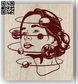 Art picture E0011881file cdr and dxf free vector download for laser engraving machines
