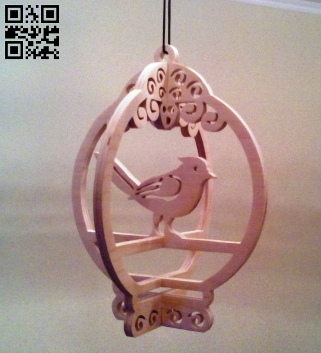 Bird E0011752 file cdr and dxf free vector download for laser cut