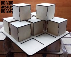 Box E0011749 file cdr and dxf free vector download for laser cut