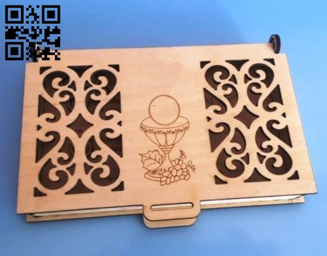 Box E0011833 file cdr and dxf free vector download for Laser cut