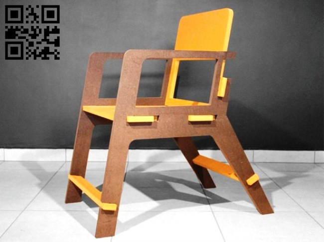 Chair E0011957 file cdr and dxf free vector download for laser cut