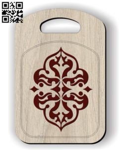 Chopping board E0011867 file cdr and dxf free vector download for laser cut