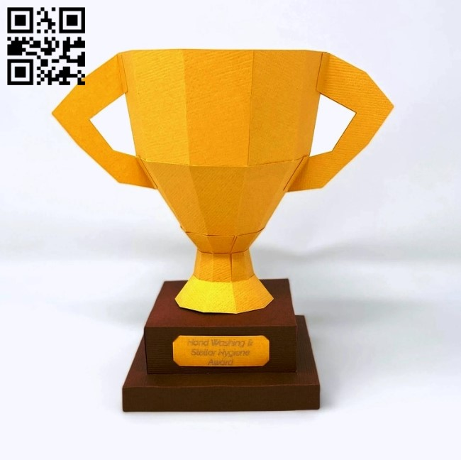 Cup E0011687 file cdr and dxf free vector download for Laser cut
