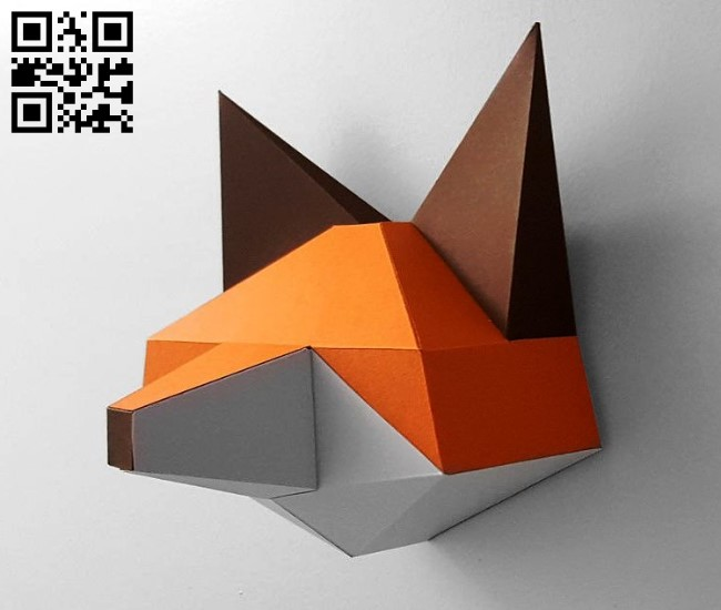 Fox E0011920 file cdr and dxf free vector download for laser cut