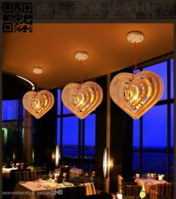 Heart light E0011955 file cdr and dxf free vector download for laser cut