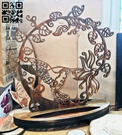 Hummingbird Rack for adornments E0011657 file cdr and dxf free vector download for laser cut