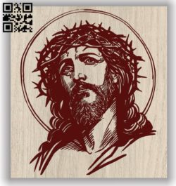 Jesus E0011724 file cdr and dxf free vector download for laser engraving machines