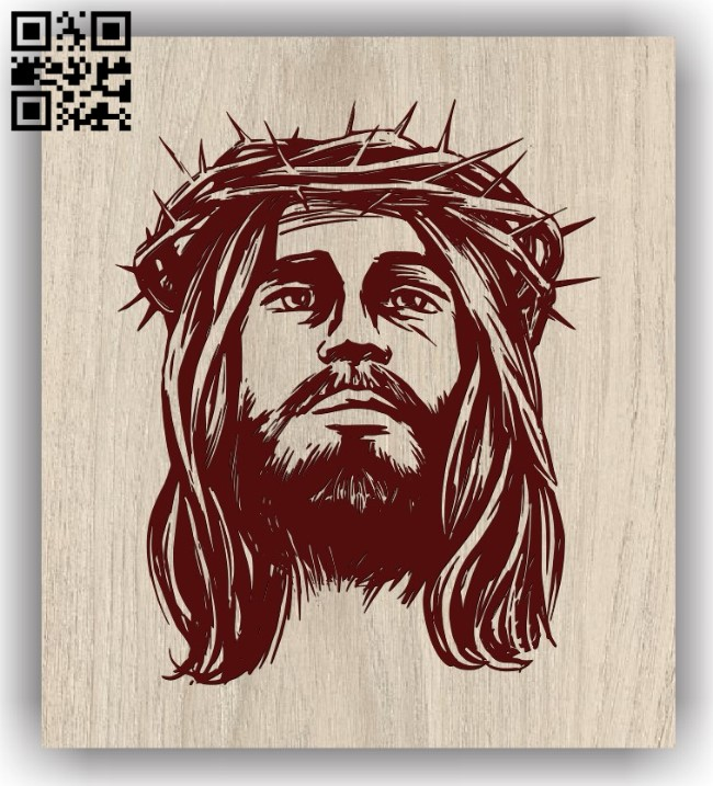 Lord jesus E0011840 file cdr and dxf free vector download for laser engraving machines