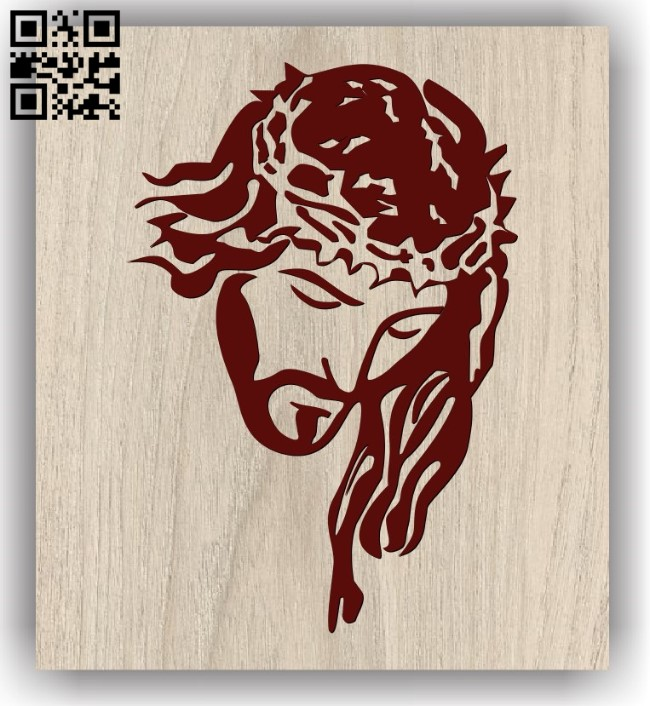 Lord jesus E0011841 file cdr and dxf free vector download for laser engraving machines