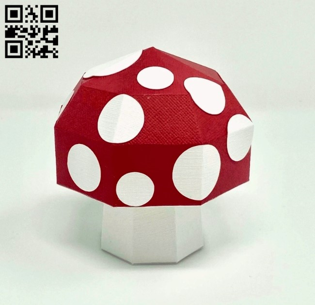 Mushroom E0011688 file cdr and dxf free vector download for Laser cut