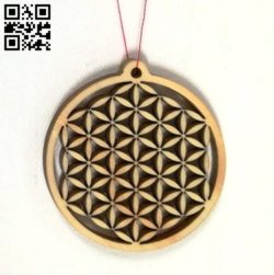 Pendant E0011821 file cdr and dxf free vector download for Laser cut