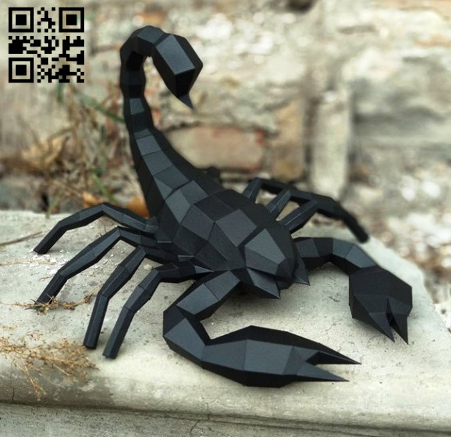 Scorpio E0011873 file cdr and dxf free vector download for laser cut