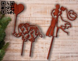Topper E0011742 file cdr and dxf free vector download for laser cut
