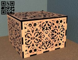 Casket E0012158 file cdr and dxf free vector download for laser cut