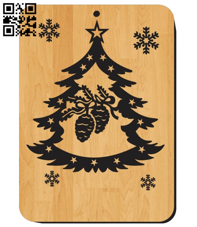 Christmas cards E0012188 file cdr and dxf free vector download for laser engraving machines