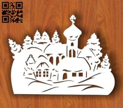 Christmas decorations E0012028 file cdr and dxf free vector download for laser cut plasma
