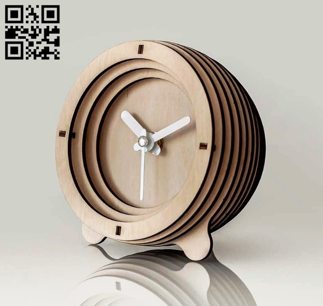 Clocks E0012184 file cdr and dxf free vector download for laser cut