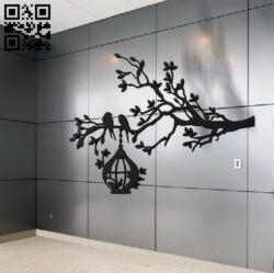 Decorative tree E0012113 file cdr and dxf free vector download for laser cut plasma