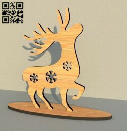 Deer E0012120 file cdr and dxf free vector download for laser cut