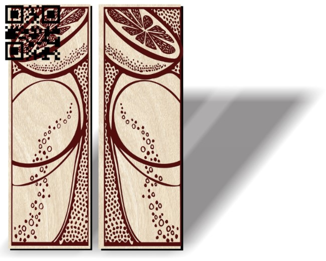 Door motifs E0012094 file cdr and dxf free vector download for laser engraving machines