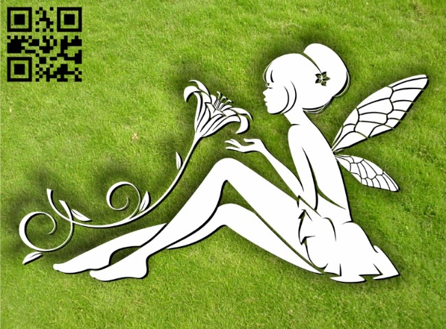 Fairies E0012014 file cdr and dxf free vector download for laser cut