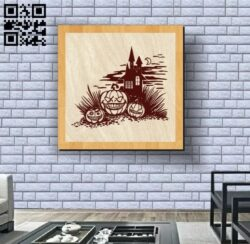 Halloween E0012153 file cdr and dxf free vector download for laser engraving machines