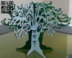 Jewelery Tree E0012025 file cdr and dxf free vector download for laser cut
