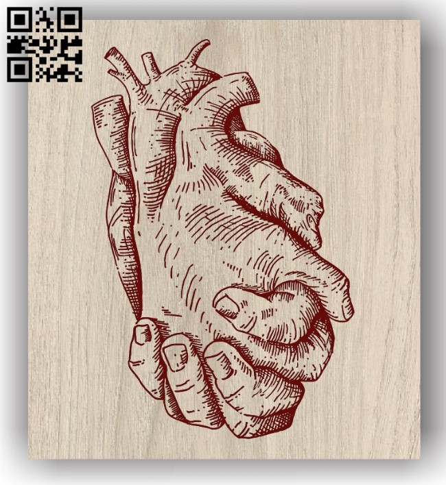 Two hands E0011968 file cdr and dxf free vector download for laser engraving machines