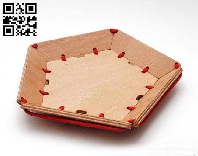 Bowl E0012351 file cdr and dxf free vector download for laser cut