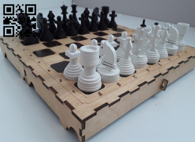 Chess E0012263 file cdr and dxf free vector download for laser cut