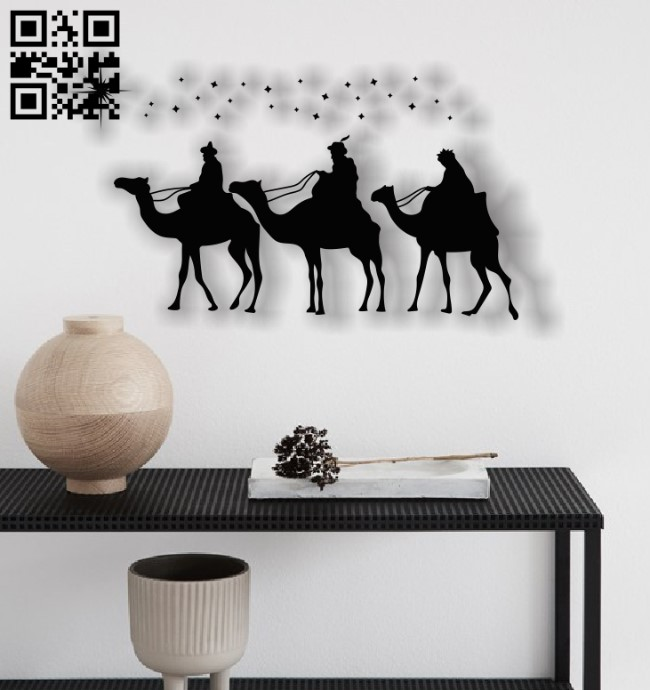 Christmas picture E0012340 file cdr and dxf free vector download for laser engraving machines