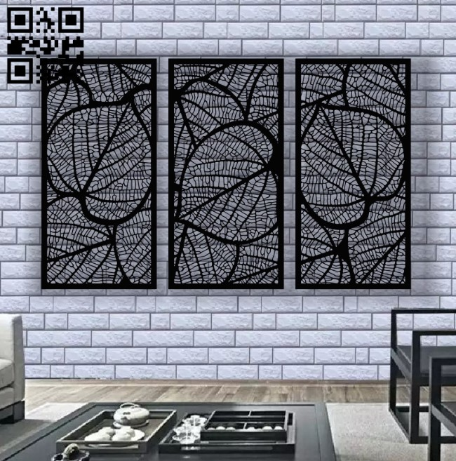 Design pattern screen panel E0012303 file cdr and dxf free vector download for laser cut cnc