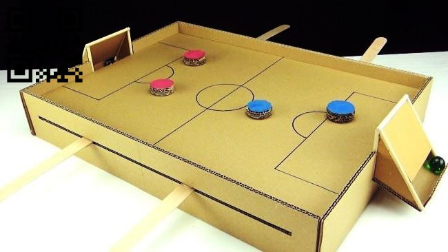 Football board game E0012437 file cdr and dxf free vector download for laser cut