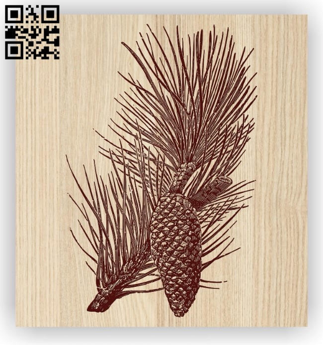 Maritime pine E0012473 file cdr and dxf free vector download for laser engraving machines