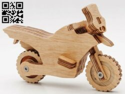 Motorbike E0012553 file cdr and dxf free vector download for laser cut
