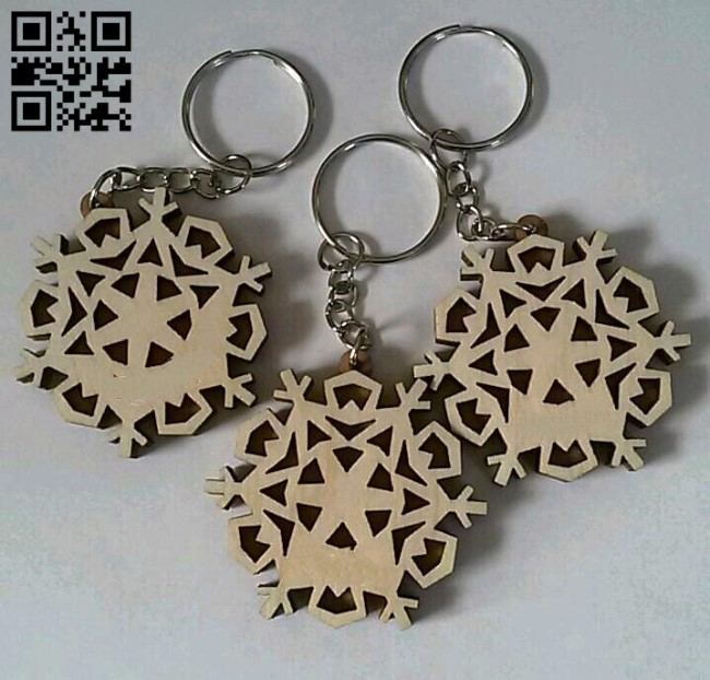 New Year Keychains E0012496 file cdr and dxf free vector download for laser cut