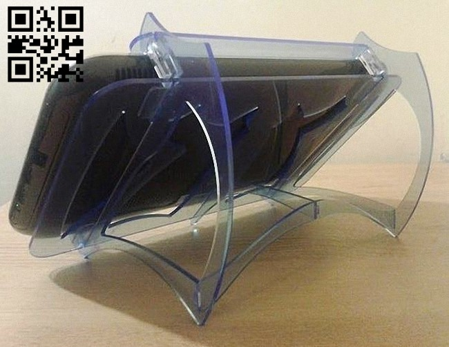 Phone stand E0012528 file cdr and dxf free vector download for laser cut