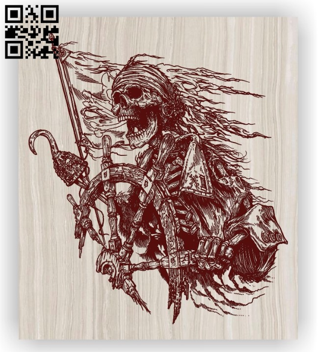 Pirates E0012273 file cdr and dxf free vector download for laser engraving machines