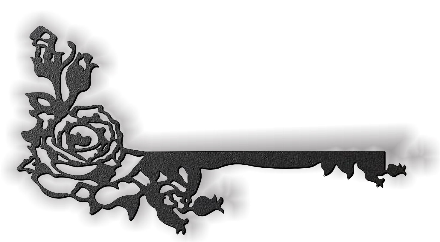 Rose E0012299 file cdr and dxf free vector download for laser cut plasma