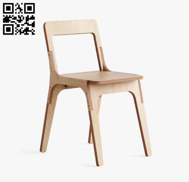 Slim Chair E0012386 file cdr and dxf free vector download for laser cut
