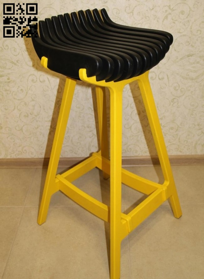 Stool E0012424 file cdr and dxf free vector download for laser cut